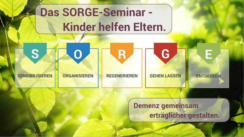 Frühlingsmotiv des SORGE Seminar von Hendrik Dohmeyer