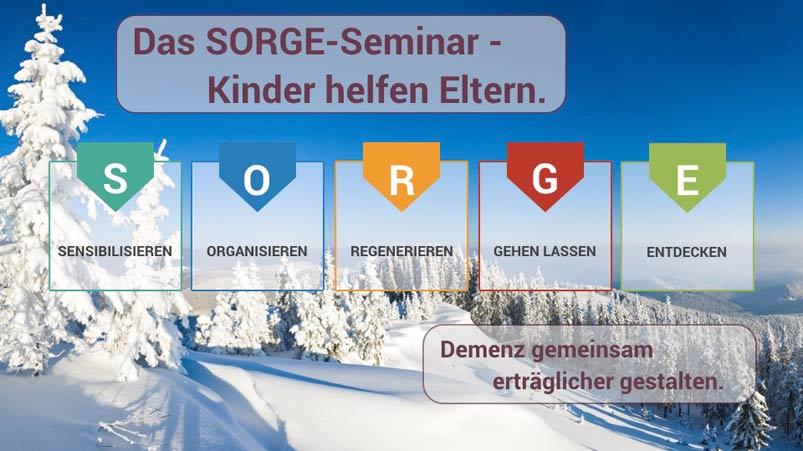 Wintermotiv des SORGE Seminar von Hendrik Dohmeyer